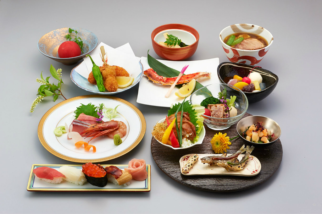 Omatsuri course 6,480yen (tax incl.)